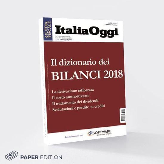 Guida Il Dizionario dei Bilanci 2018 versione cartacea