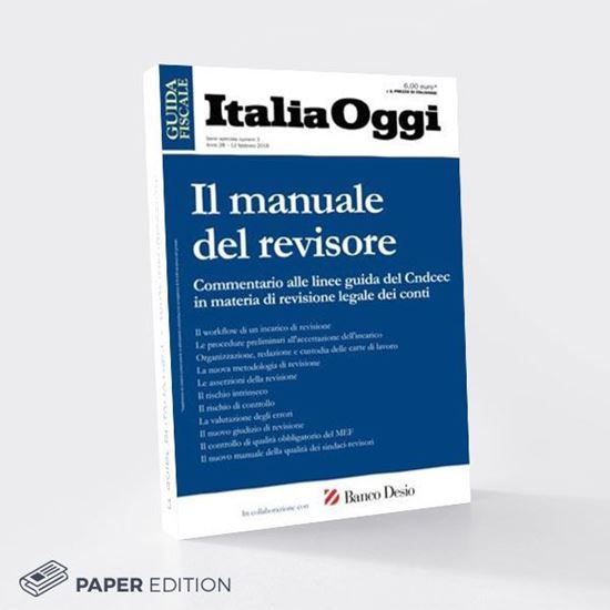 Manuale del revisore versione cartacea