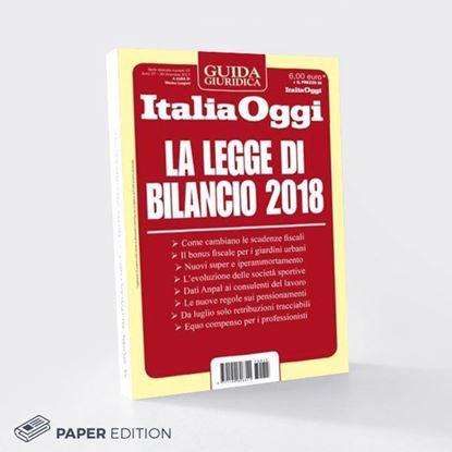 Guida La Legge di Bilancio 2018 versione cartacea