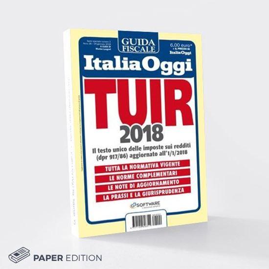 Guida al TUIR 2018 versione cartacea