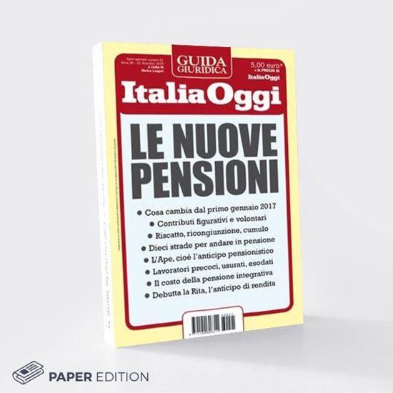 Guida alle nuove pensioni