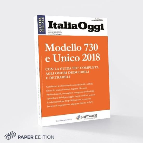 Modello 730 e Unico 2018 - Le Guide di Italia Oggi