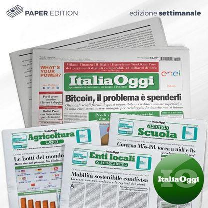 Italia Oggi edizione settimanale