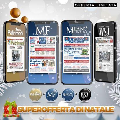 Abbonamento MF MilanoFinanza +The Wall Street Journal+ Patrimoni