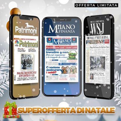 abbonamento a Milano Finanza + The Wall Street Journal + Patrimoni