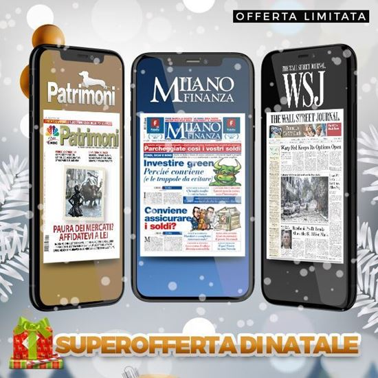abbonamento a Milano Finanza + The Wall Street Journal + Patrimoni
