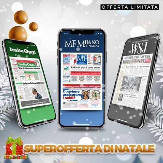 Abbonamento MF MilanoFinanza +ItaliaOggi+The Wall Street Journal