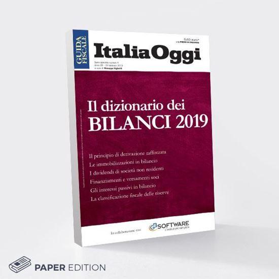 Immagine di Il dizionario dei BILANCI 2019