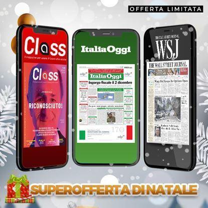 ItaliaOggi Digital + The Wall Street Journal + Class