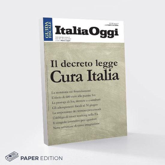 Immagine di Il decreto legge Cura Italia