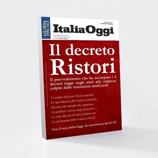 Immagine di Il decreto Ristori
