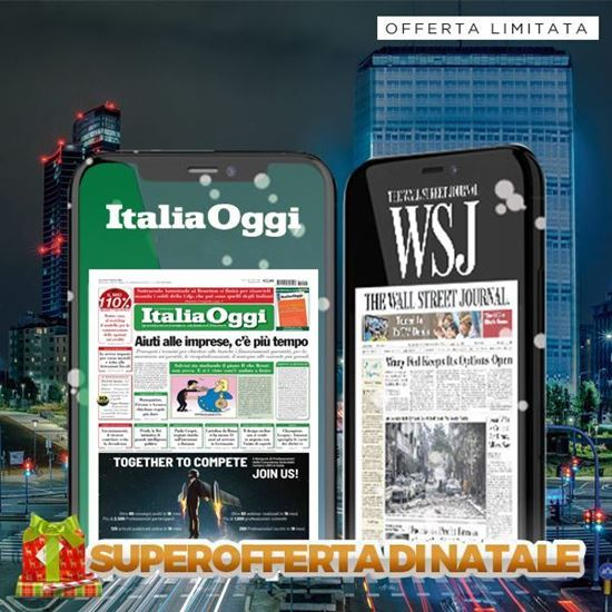 ItaliaOggi Digital + The Wall Street Journal